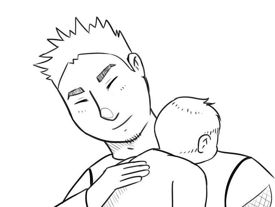 помощь отца при грудном вскармливании